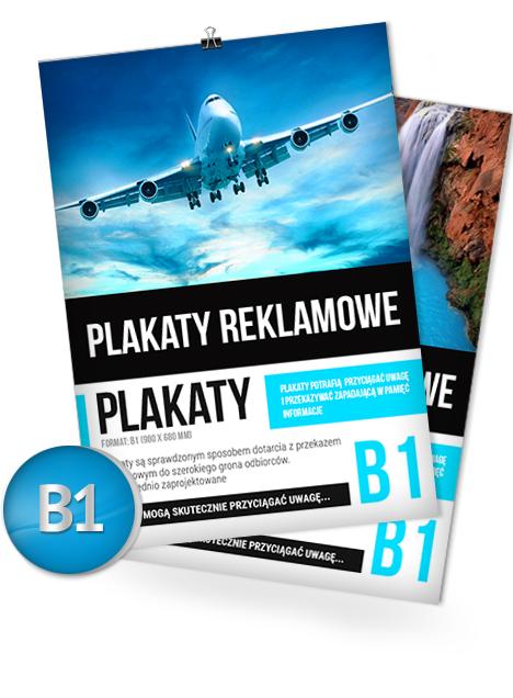 Plakat B1 980 X 680 Mm Strefawydrukupl Drukarnia